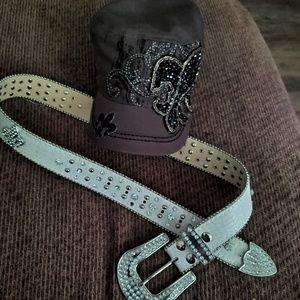 Miss me belt & Miss me hat